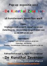 2017 Pop-up Expositie Zevenaar